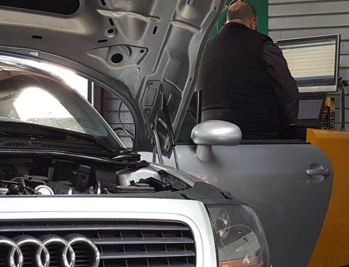 Diagnostique manque de performances sur une Audi TT à Saint Andre de Corcy