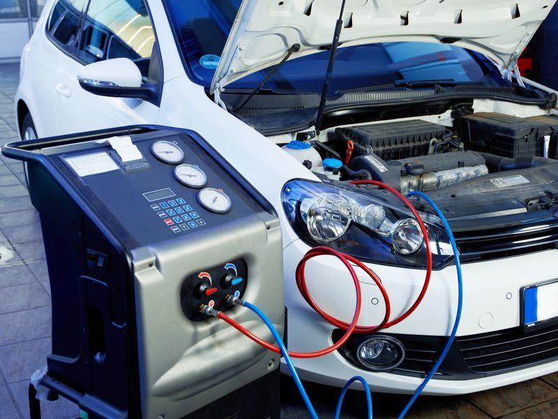 recharge de climatisation en gaz, diagnostique compresseur