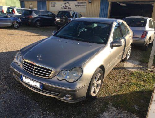 Neuville sur Saône – Recherche de panne sur Mercedes C220 CDi